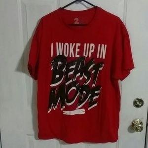 Beast mode tee.